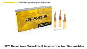 Berger lanza nueva munición de largo alcance