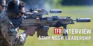 Entrevista exclusiva con los líderes del programa de armas del escuadrón de próxima generación del ejército