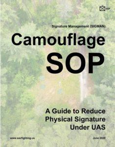SOPMAN Camouflage SOP: una guía para reducir la firma física bajo UAS