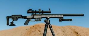 Gunwerks Lite SabR – Rifle de acción de cerrojo con supresión integral calibre .338 RCM
