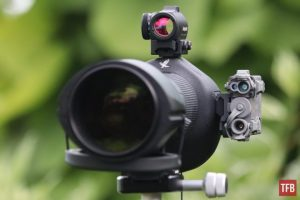 Telescopio Swarovski Optics STR80 MRAD / MOA