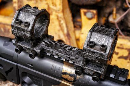 Monturas de fibra de carbono para visores de Black Collar Arms