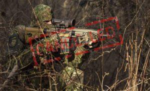 Rifle de francotirador alemán de corto alcance (G26) Licitación cancelada