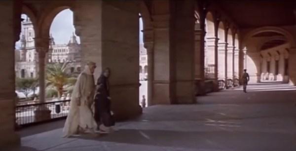 "Filme Lawrence da Arábia (Foto: ""print screen"" do vídeo)"