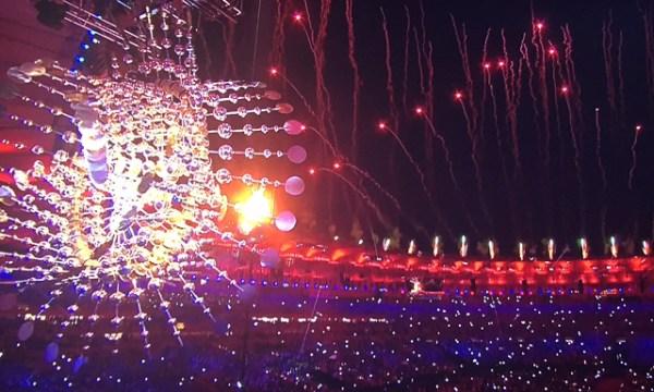 Encerramento da Cerimônia de Abertura das Olimpíadas 2016.