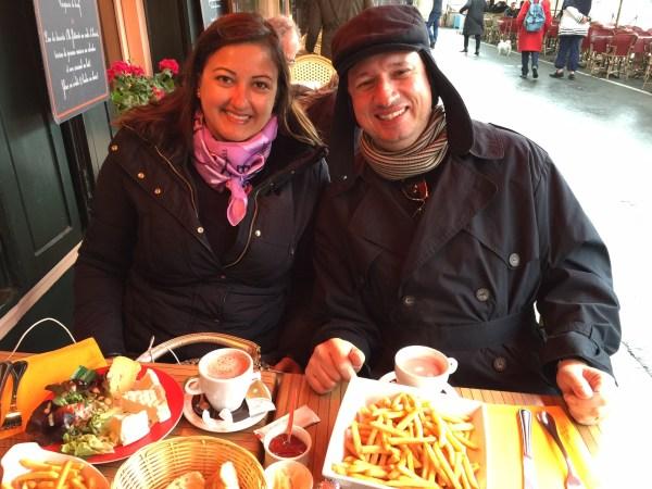 Restaurante L'Abricotier em Honfleur. (Foto: Blog Tirando Férias)