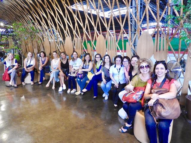 Blogueiros na Cozinha Escola Nestlé, no Mercado Central de BH. Foto: CAFF - Blog Tirando Férias