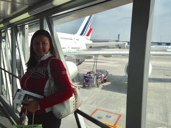 Embarque super rápido no aeroporto Charles de Gaulle em Paris. Foto: AMF / Blog Tirando Férias