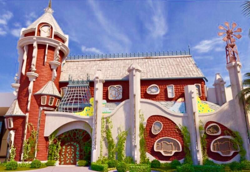 """Klift Kloft Still, a porta se abriu para a exposição """"Rá-Tim-Bum - O Castelo"""""""