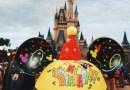 Comemorando o aniversário nos parques da Disney.