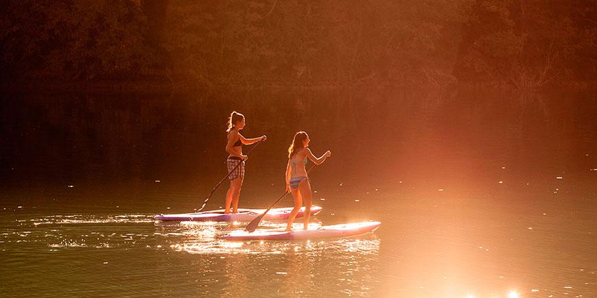 Stand Up Paddle o Paddle Surf, La Caseta del Pantà
