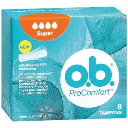 O.B PROcomfort супер 8 коприна