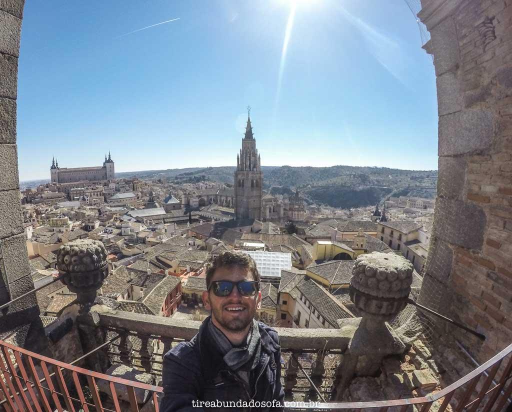 A vistas incríveis de Toledo, bate e volta de Madrid, Espanha