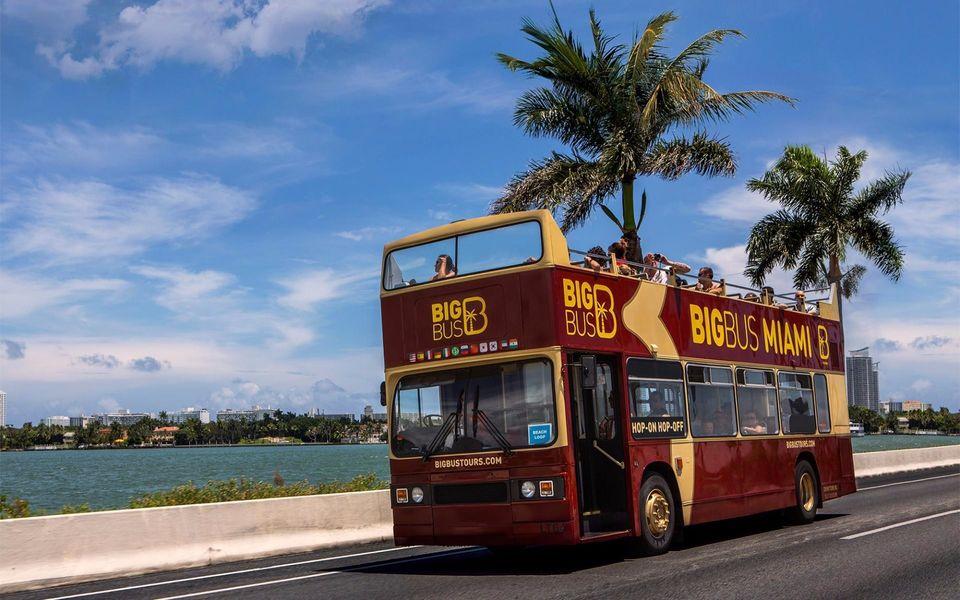 ônibus hop-on hop-off em miami