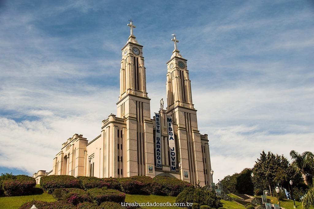 igreja matriz puríssimo coração de maria, são bento do sul, sc, sbs, santa catarina, igreja alemã, arquitetura alemã, religião, o que fazer em São Bento do Sul