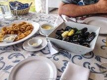 Club Los Balleneros, comida uruguaia, onde comer em punta del este, lula a milanesa, marisco ao bafo, o que fazer em Punta del Este