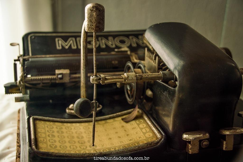 museu municipal são bento do sul, o que fazer em sbs, santa catarina, sc, antiguidades, casa antiga, máquina de escrever antiga, história