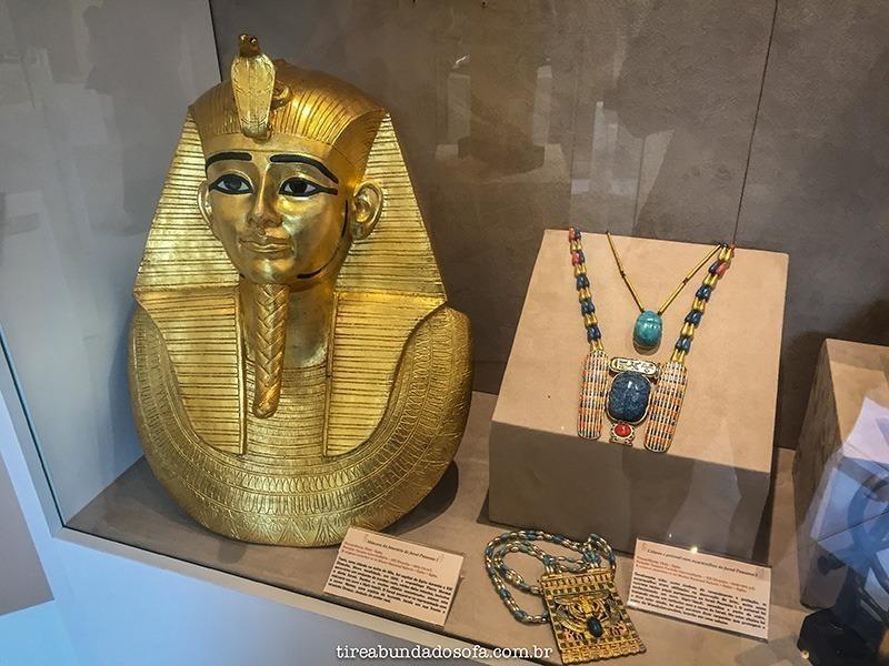 Objetos do antigo Egito
