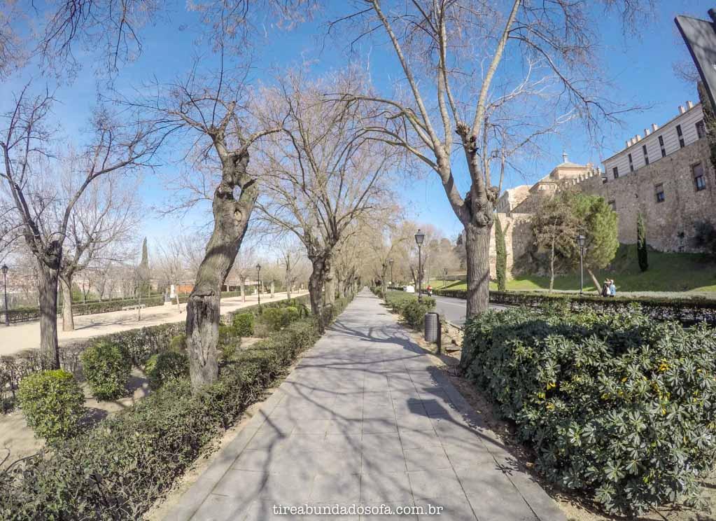 As ruas charmosas de Toledo, na Espanha