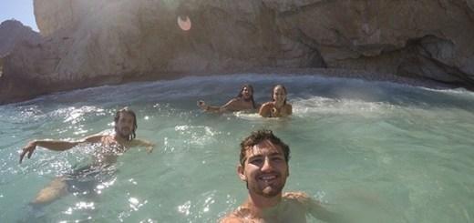 praia escondida no sul da espanha, em moraira