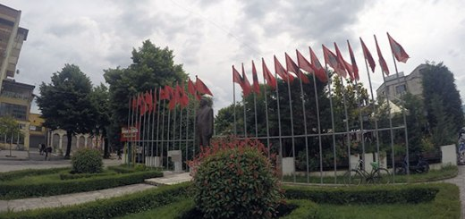 bandeiras da Albânia