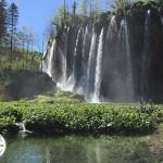 cachoeiras do parque nacional Plitvice Lakes, na Croácia