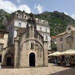 igreja em kotor old town, montenegro, europa