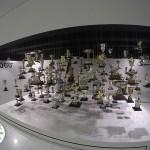 exposição de troféus da marca porsche, em stuttgart