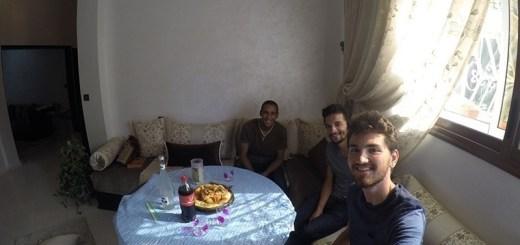 almoço típico marroquino, couscous