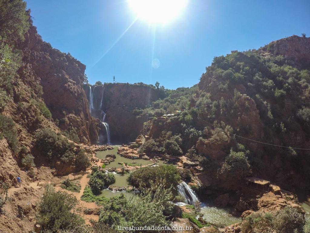 O que fazer no marrocos, cascatas de ouzoud