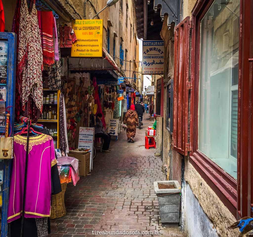 Pelas ruas de Essaouria