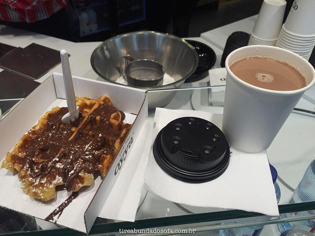 waffle belga, bruges, bélgica, belgium, chocolate quente, chocolate belga