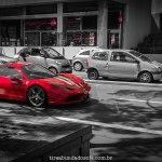 Super carro em monaco, ferrari vermelha, Ferrari 458 Italia, carros de luxo monaco