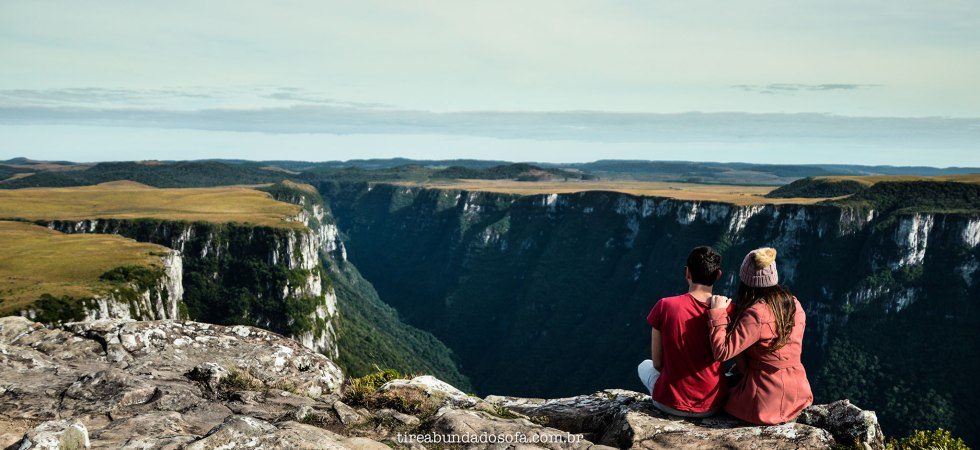 Cânion fortaleza, cambará do sul, rio grande do sul, parque nacional da serra geral