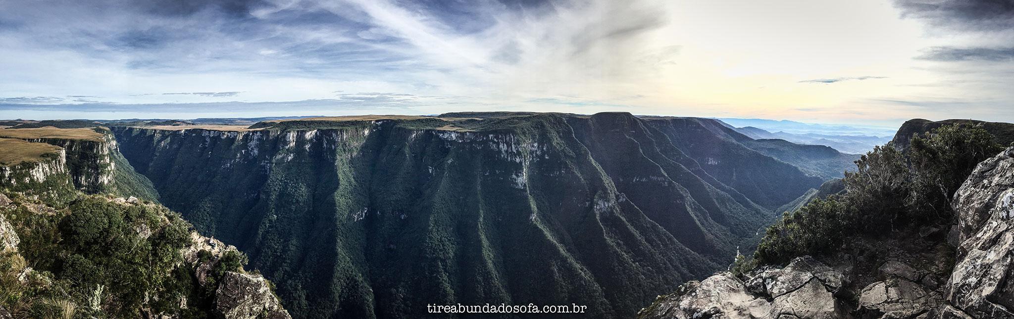 cânion fortaleza, parque nacional da serra geral, cambará do sul, rio grande do sul