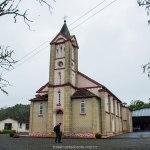 Igreja de Rio Natal, no interior de São Bento do Sul