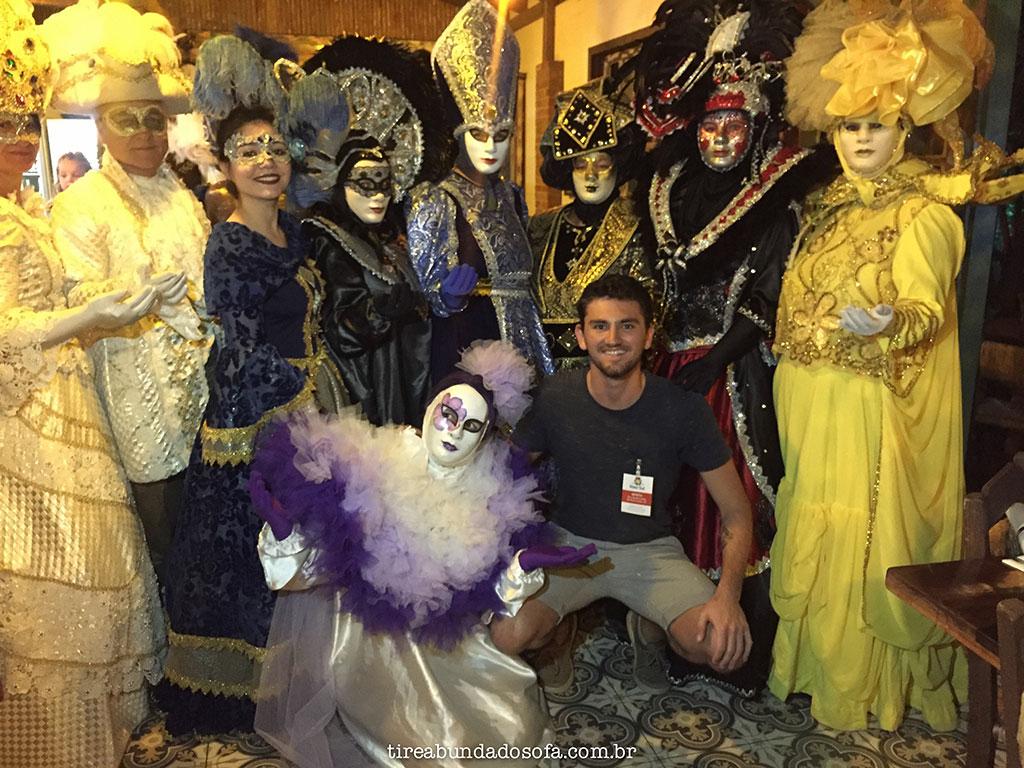 Grupo de desfile do Carnevale di Venezia