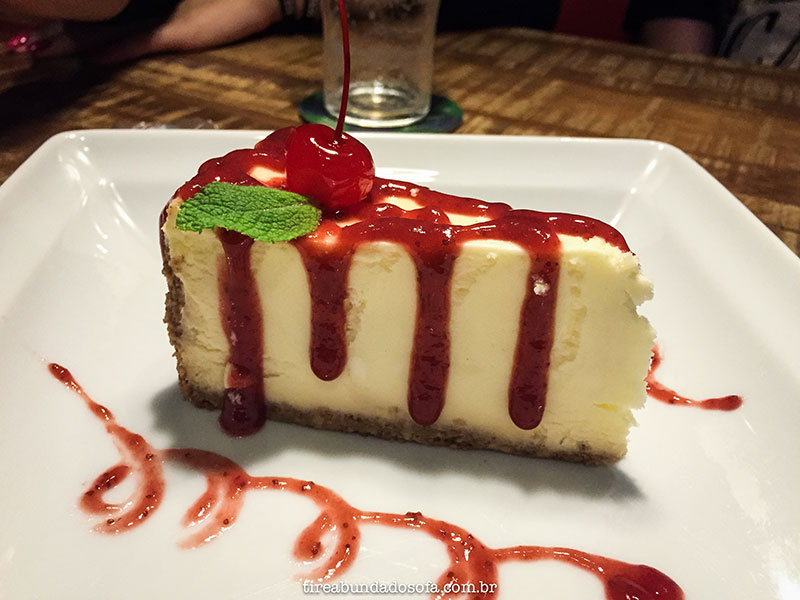 Cheesecake americano, no Jack American Bar