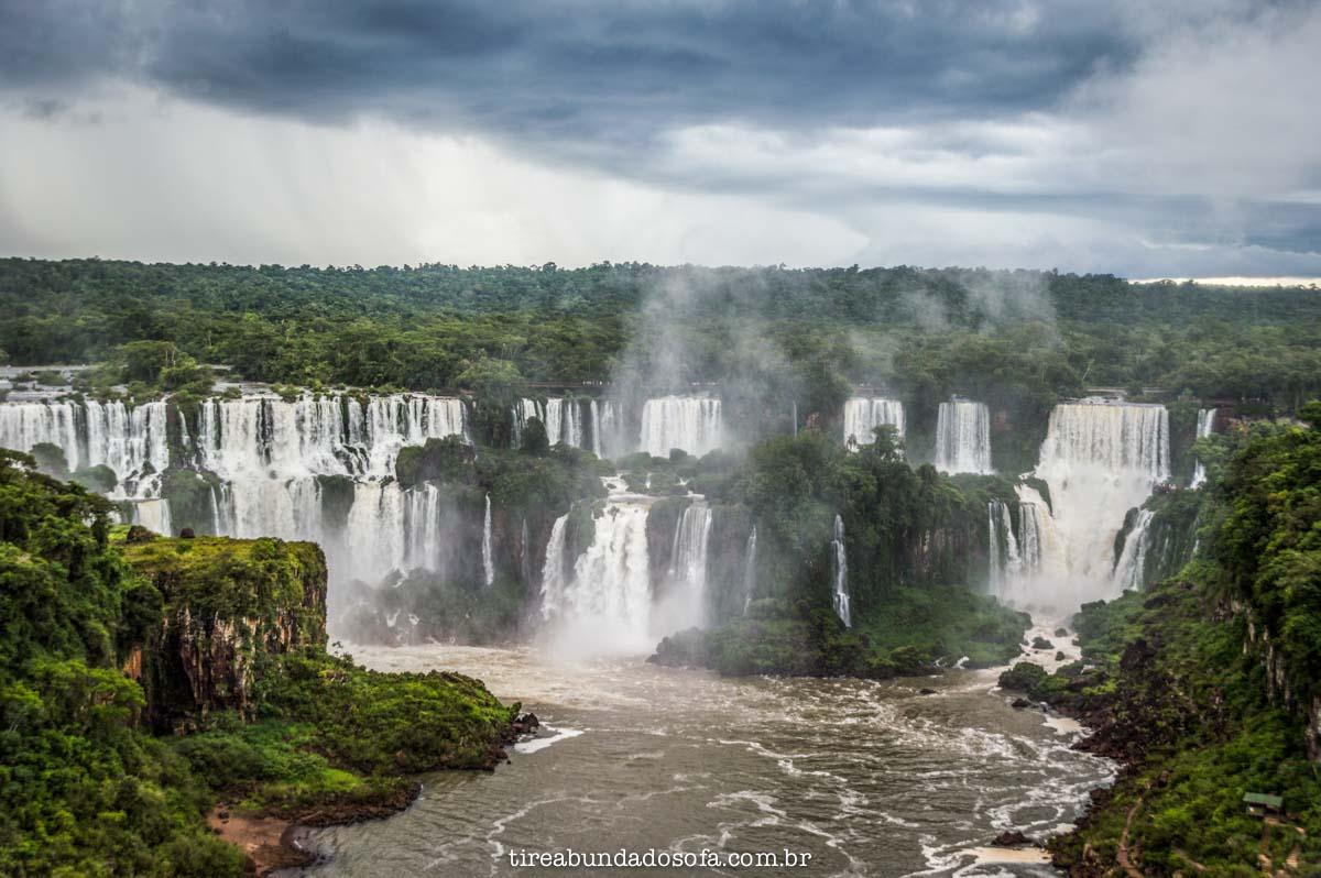 cataratas do iguaçu lado brasileiros
