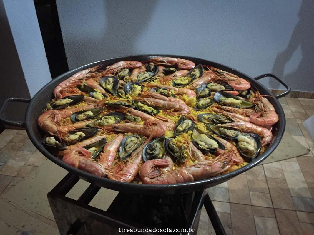 paella espanhola original