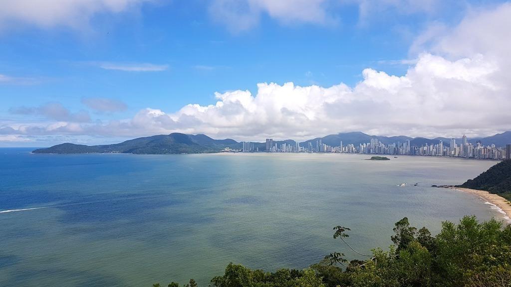 Vista do Morro do Careca, em Balneário Camboriú