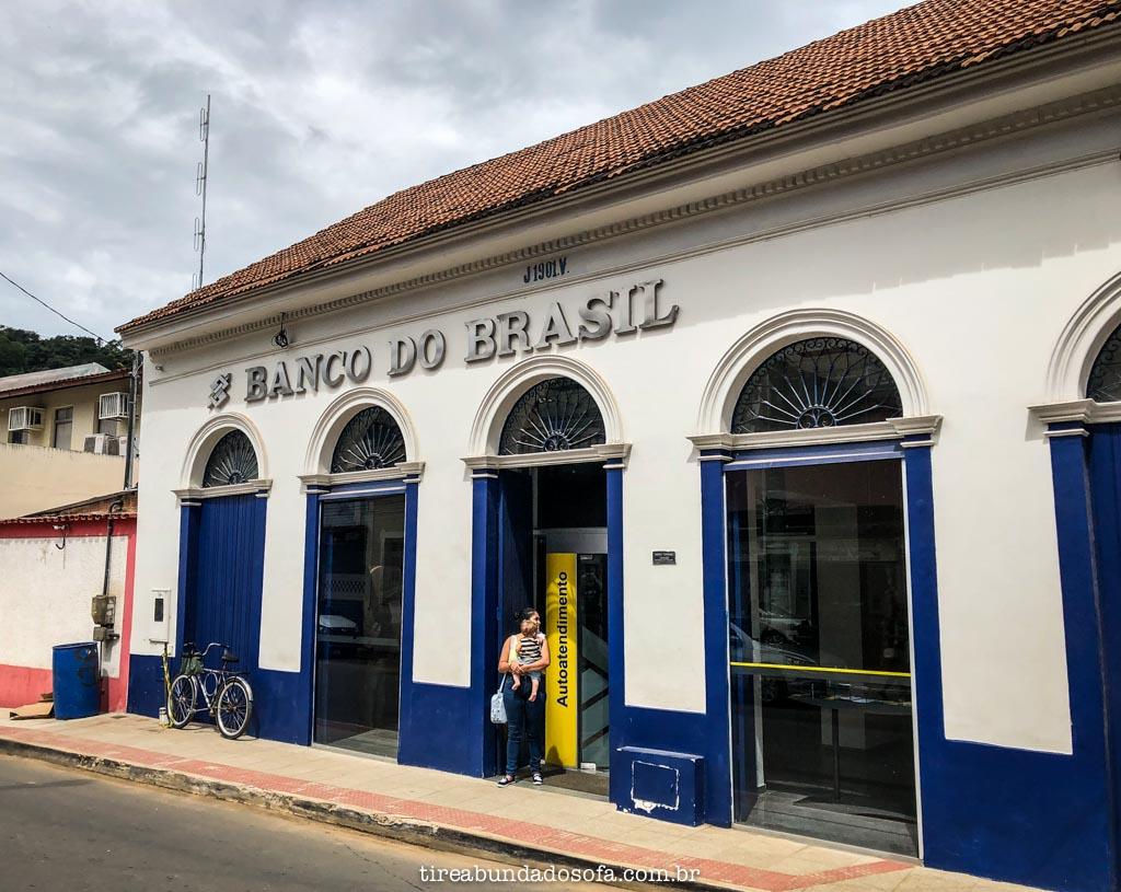 único banco do brasil azul no país
