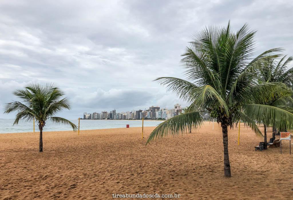 Praia da Costa, em Vila Velha, Espírito Santo
