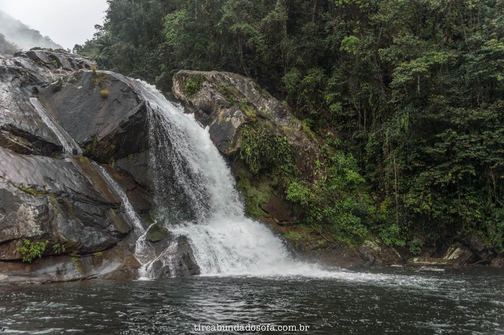 Cachoeira Rio da Minas, em Cananéia