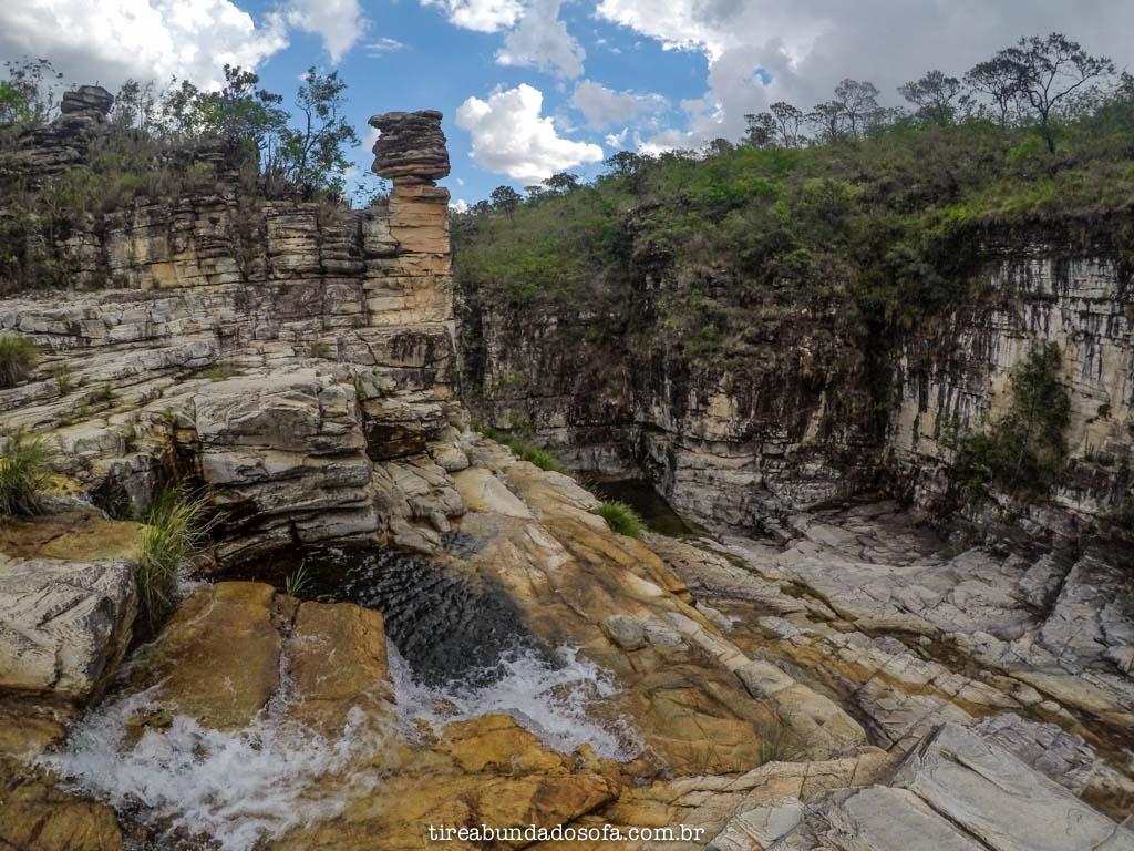 Cachoeira da Pedra Ancorada, em Capitólio, Minas Gerais