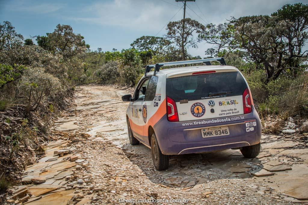Estrada alternativa para o Morro do Chapéu, em capitólio, minas gerais