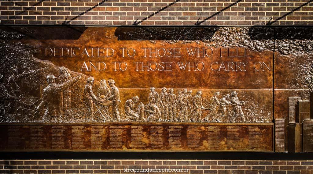 memorial 9 de setembro, em nova york