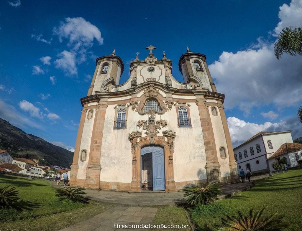 Igreja Nossa Senhora do Carmo, em Ouro Preto, Minas Gerais