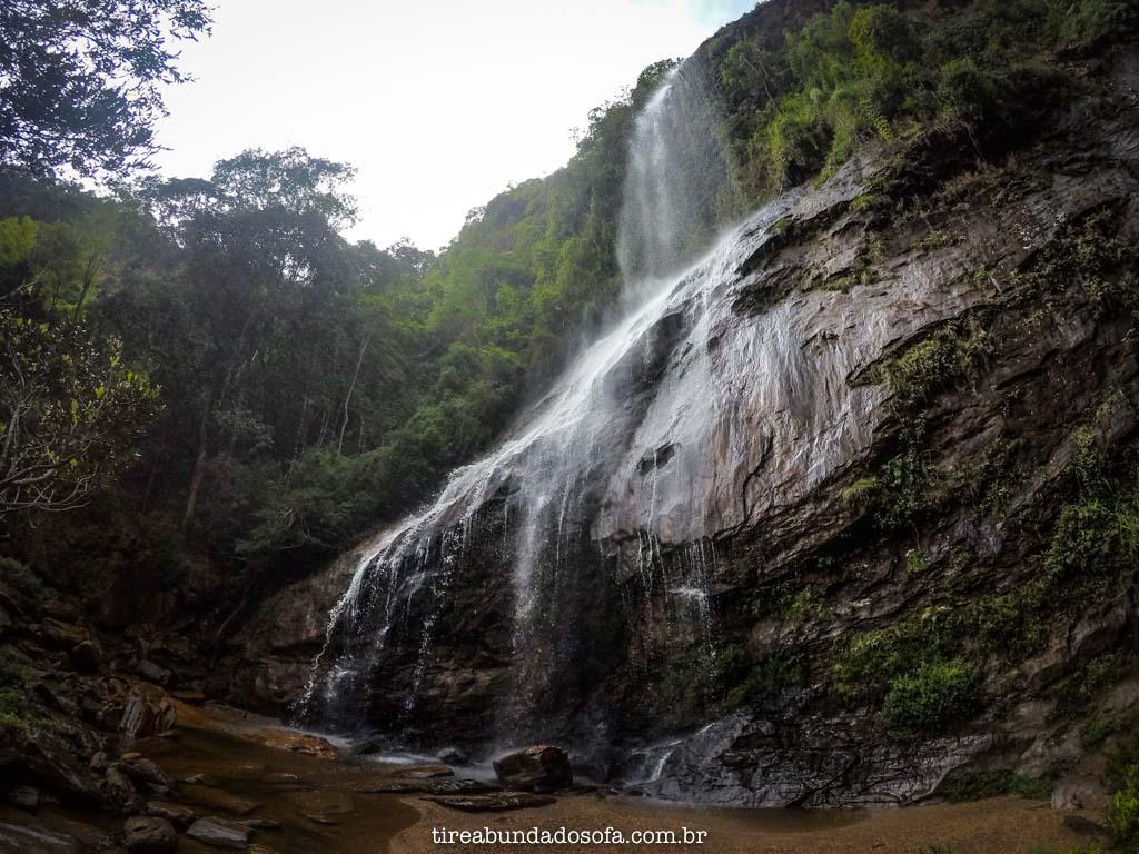 Cachoeira Brás Gomes, em Ouro Preto, Minas Gerais