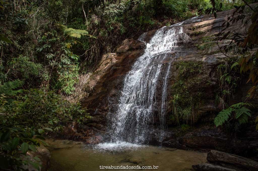 Cachoeira dos Namorados, em Lavras Novas